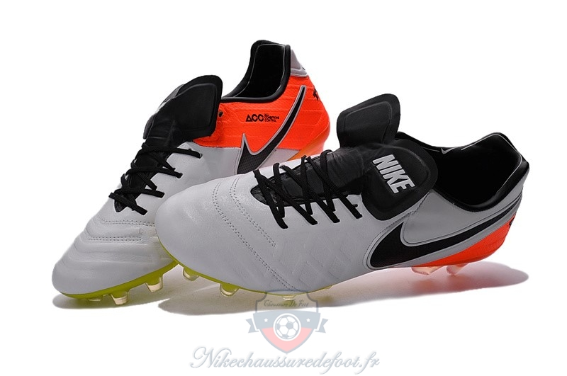 Original Nike Tiempo Legacy VI FG Gris Orange